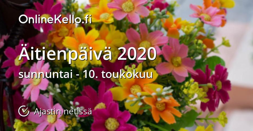 äitienpäivä 2021